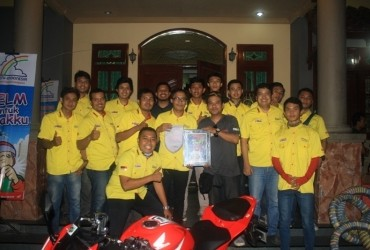 CCI Surabaya Rayakan 1 Dekade Angkat Tema 'Always Keep Our Brotherhood & Safety Riding'
