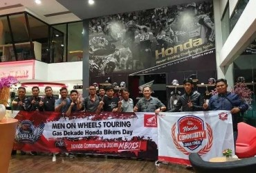 Mens On Wheele CBR 250 RR Goes To HBD 2018