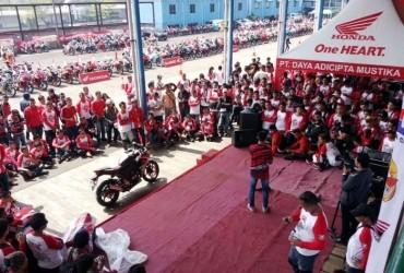 500 Bikers ikuti Jambore Nasional Honda CBR ke-4