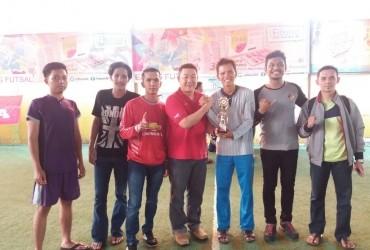 RCC Raih The Best Supporter di Ketupat Futsal Community
