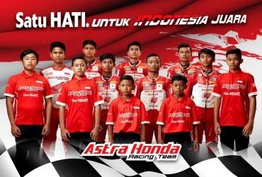 Para Pebalap Astra Honda Siap Harumkan Nama Indonesia