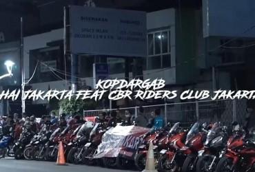 Ikuti Syarat Sah Menjadi Member AHJ, HAI Jakarta Gruduk Kopdaran CBR Riders Club Jakarta.