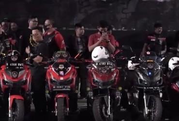 Sambut Kehadiran HAI Jakarta Di Kopdaran CBR Rider Club Jakarta. Ini Yang di Ucapkan Bro Shindu.