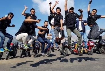Komunitas Honda CBR Prbolinggo Lakukan Sunmory Ramadan ke Bromo, Yuk Intip Keseruan Mereka