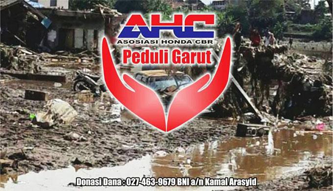 AHC Lakukan Aksi Sosial Peduli Bencana Garut dan Sumedang