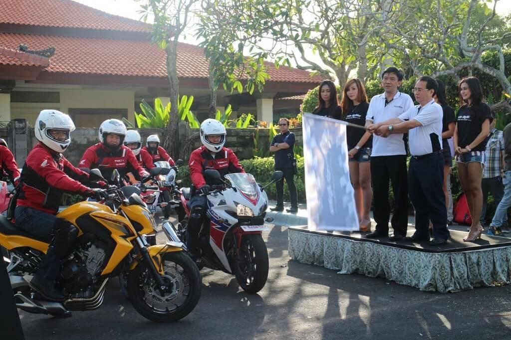 HONDA BIG BIKE INDONESIA TOUR: TOURING SAMBIL DONASI