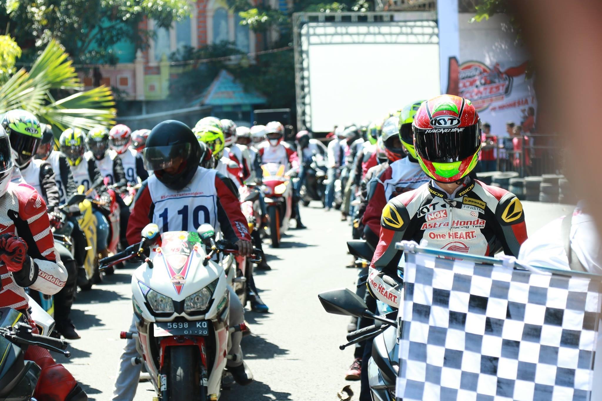 Komunitas Honda CBR Rasakan Perfoma Total Control di Lintasan Balap