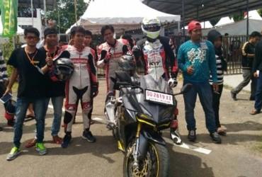 Komunitas Honda Makassar Uji All New Honda CBR250RR di Sirkuit Puncak Mario Sidrap