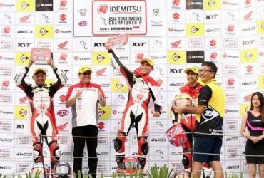 Honda CBR250RR Sapu Bersih Podium Race 1 AP250 ARRC Sentul