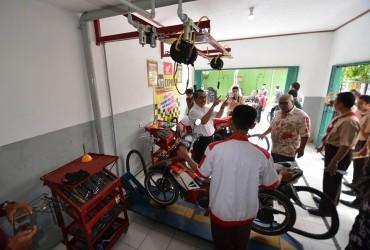 SMK Binaan Wahana Miliki Bengkel Resmi AHASS