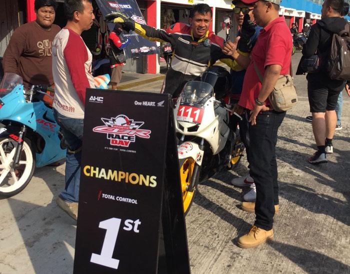 Bikers CBR Club Medan Raih Podium Pertama di ICE Day 2018, Mantap Kali!