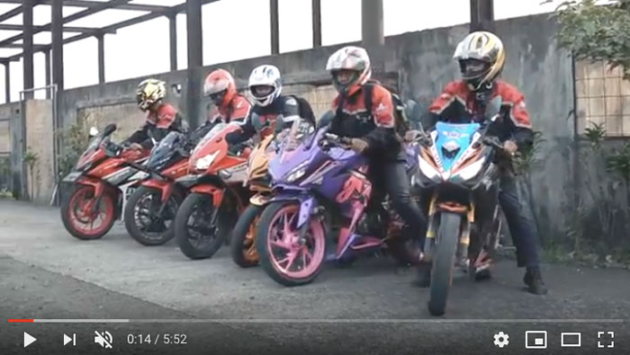 Yuk Simak! Video Honda CBR Racing Day Seri ke-2
