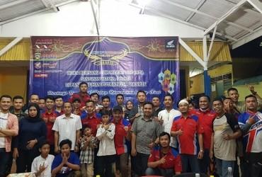 CBR Riders Jakarta Gelar Buka Puasa Bersama Anak Yatim Piatu