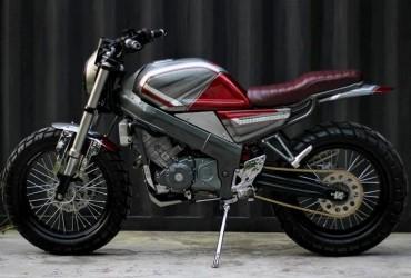 Honda CBR150R Bergaya Scrambler