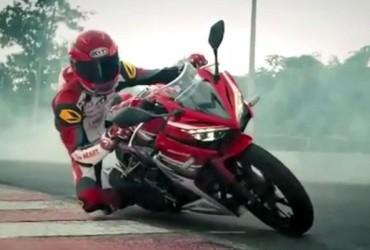 TVC Honda CBR 150R, Kencang Banget Tikungan