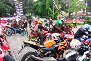 Komunitas Honda CBR Jakarta dan Tangerang Ramaikan CBR Community Gathering