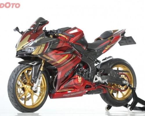 Angkat Tema Hulkbuster, Honda CBR250RR Jadi Lebih Berwarna