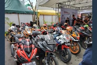 Komunitas CBR Makassar Ramaikan Honda Motor Show 2018