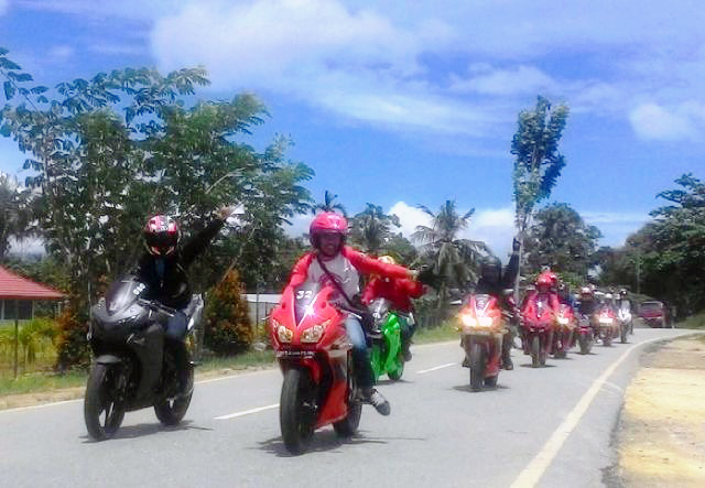 Touring Awal Tahun CBR Riders Jayapura ke Perbatasan Papua