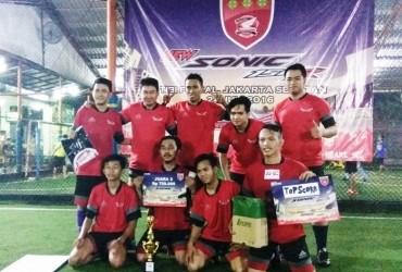 GHOT Berhasil Pertahankan Gelar Juara Turnamen Futsal Antar Anggota AHJ