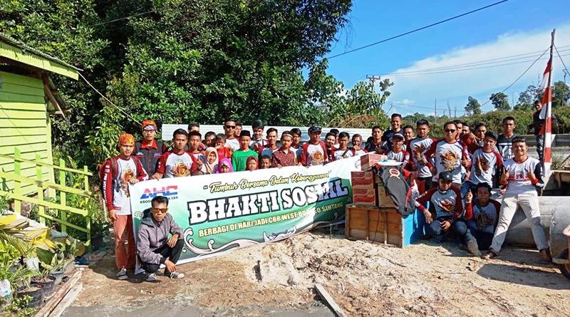 CBR West Borneo Chapter Sintang Gelar Baksos Rayakan HUT ke-2