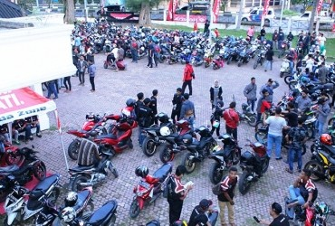 Kopdar Berfaedah Capella Honda, Gelar Brotherfood Gathering Libatkan Bikers Aceh