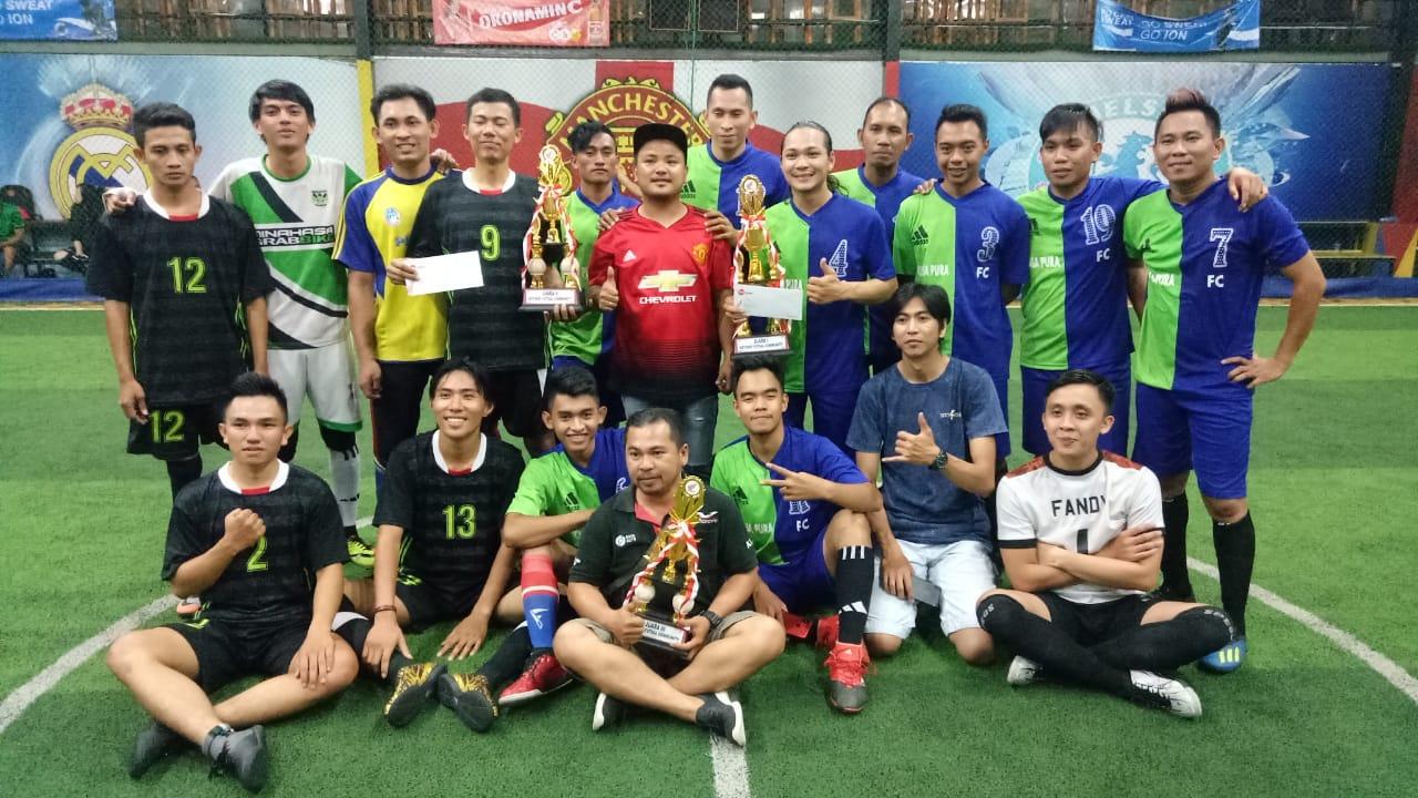 DAW Gelar Ketupat Futsal, 20 Club Honda Turut Berpartisipasi