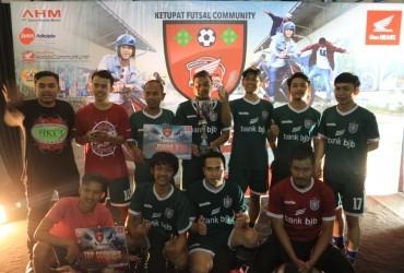 Inilah Juara Ketupat Futsal Community di Wilayah Bandung
