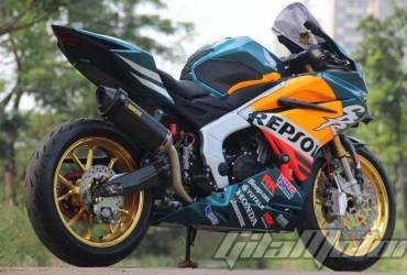 Spesial Banget Modifikasi All New Honda CBR250RR