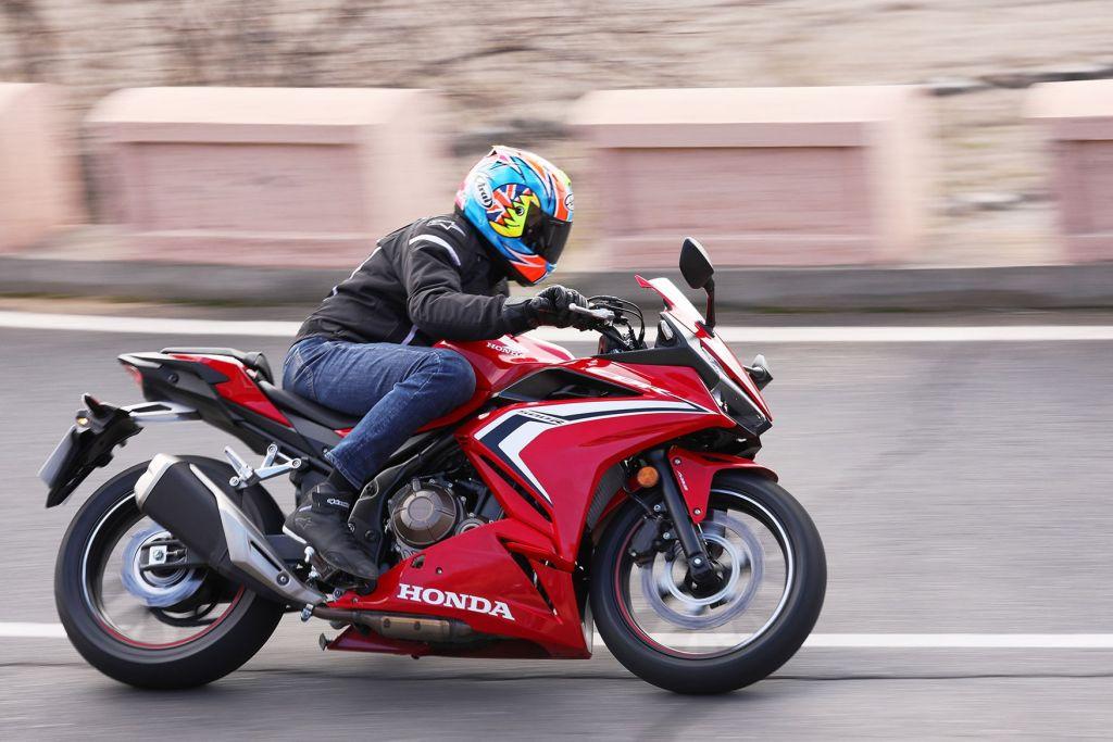Desain Honda CBR500R, Premium dan Lebih Berani