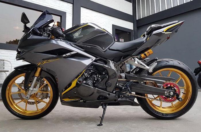 Begini Jadinya Jika Honda CBR 250RR Dijejali Velg Mahal Berharga Puluhan Juta