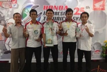 Honda Hayati Gelar Mekanik & Service Advisor 2018, Siapa Juaranya?