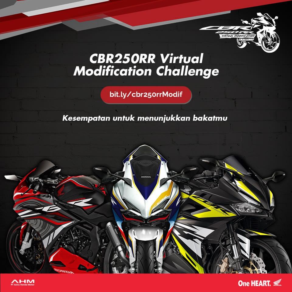 Ikut Kompetisi Honda CBR250RR Virtual Modif Challenge Hadiahnya Puluhan juta