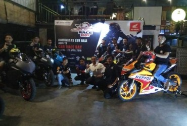 Honda CBR Bali Siap Hadapi CBR Race Day 2018 di Sirkuit Sentul