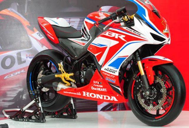 Inspirasi Modifikasi Honda CBR 150R, Makin Sporty Dengan Pelek Besar