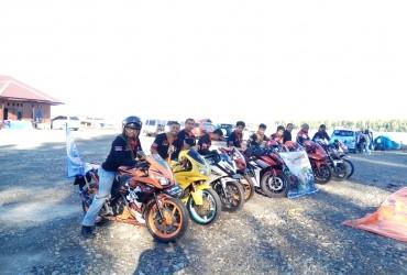 Serunya Turing Perdana Honda CBR Series Timika Club