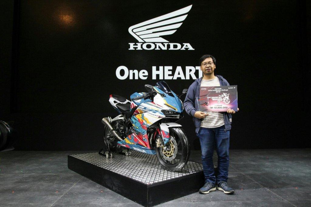 Ini Dia Juara Kontes Modifikasi Digital Honda All New CBR 250RR