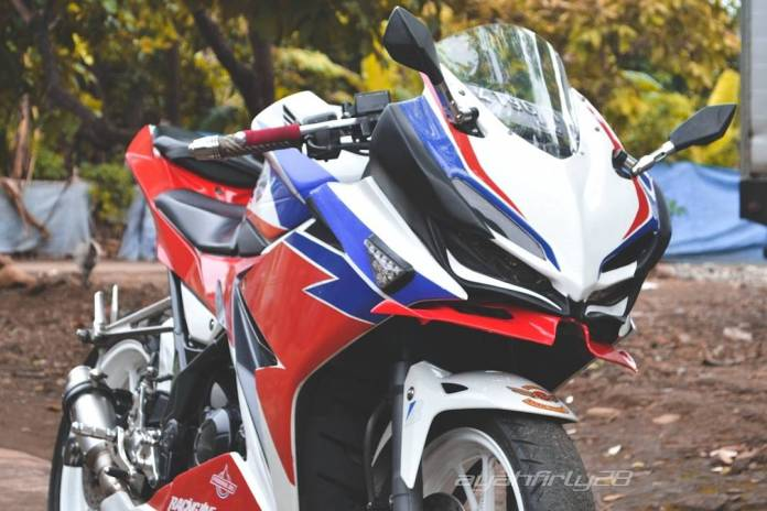 Modifikasi Honda CBR 150R Jadi CBR 250RR Look