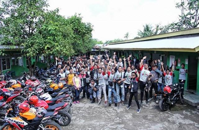 Palembang Diriuhkan Jambore Regional Honda CBR 2015 se-Sumatera