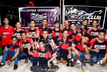CBR Club Indonesia (CCI) All Region Kaltim Sukses Gelar Kopdar Gabungan di Bontang