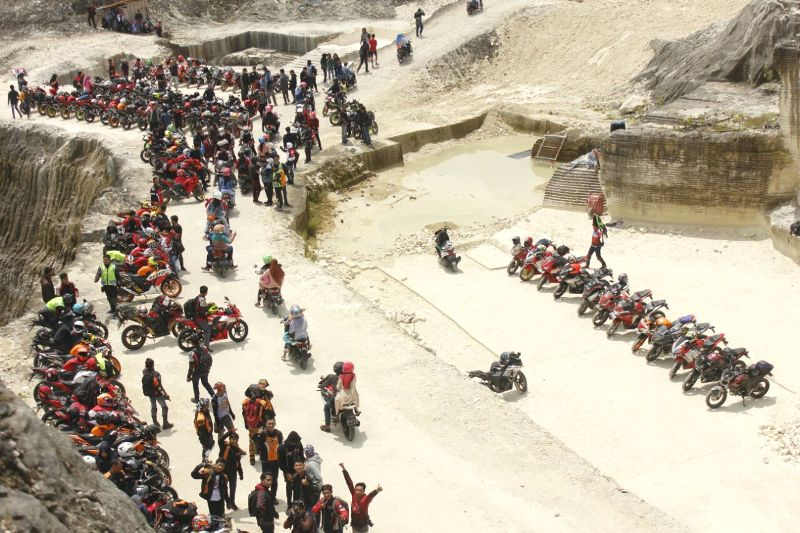 Kopdargab AHC Jateng – Jatim, Nikmati Objek Wisata Alam Bukit Jaddih