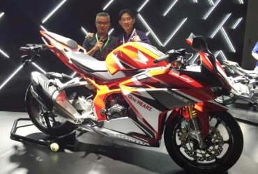Komunitas Honda CBR Saksikan Sejarah Baru Dunia Lahirnya All New Honda CBR250RR