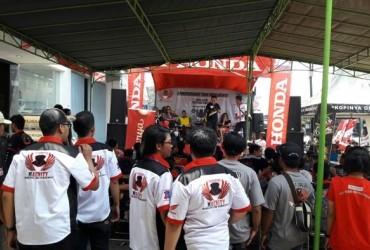 Ratusan Bikers Honda Serbu Markas Magelang CBR Community di Muntilan