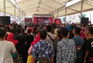 Keseruan Honda Sport Motoshow 2018 di Padang Sidempuan