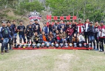 Riau CBR Club Rayakan HUT ke-6 Ditengah Ajang HBD Regional Sumatera