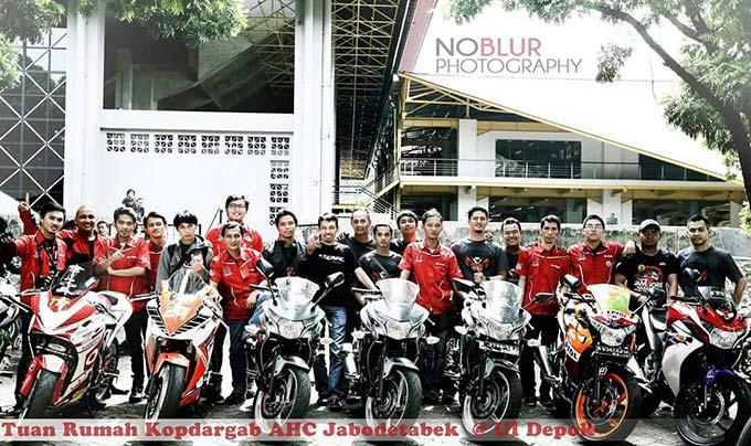 Sambut Honda Bikers Day, HCRC Depok Rutin Main Futsal