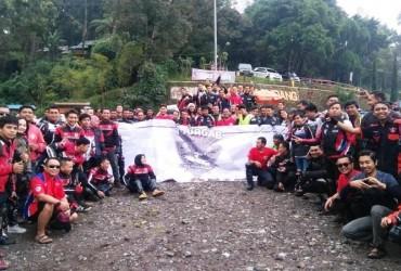 TourGab AHC 3rd All Region Java Sukses Diikuti 32 Komunitas Honda CBR Pulau Jawa