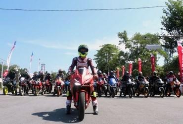 Komunitas Sport Kalbar Sukseskan Honda CBR Track Day 2019