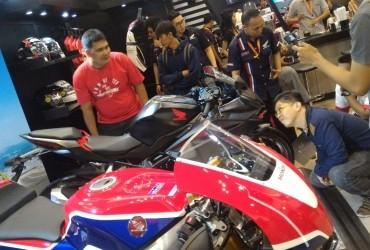 Honda Pamerkan CBR250RR DI GIIAS, Sukses Pupuskan Rasa Penasaran Bikers