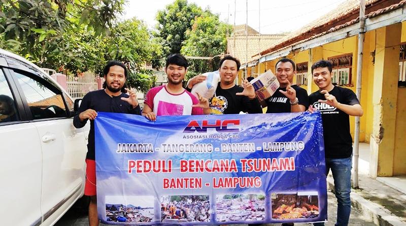 Baksos AHC Kirimkan Langsung Bantuan Untuk Korban Tsunami Banten